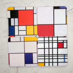 Artist: Mondrian: Red, Yellow & Blue