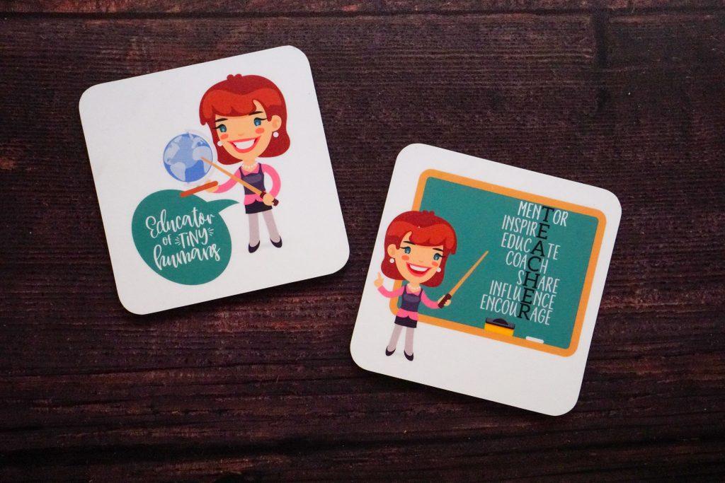 Customized coaster for a Teacher